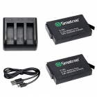 Smatree Battery (2620mah) Pack for Gopro Fusion