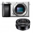 Sony Alpha 6100 avec objectif 16-50 mm (silver)