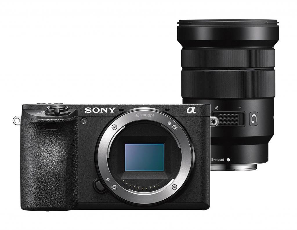 Sony Alpha 6500 avec objectif 18-105mm