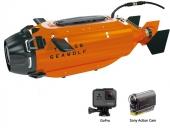 Sous-marin Ocean Master -TTRobotics avec caméra GoPro et Sony Action Cam