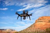 Mise en application du Aerial Pack dans un paysage paradisiaque