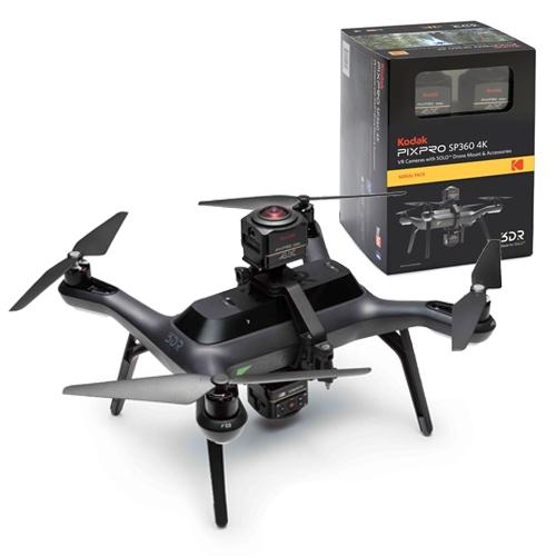 Aerial Pack Kodak SP360 4K pour 3DR SOLO