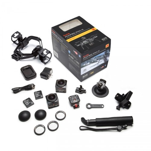 Pack complet Aerial Pack avec 2 caméras et ses accessoires
