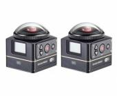 Deux caméras Kodak SP360 4K