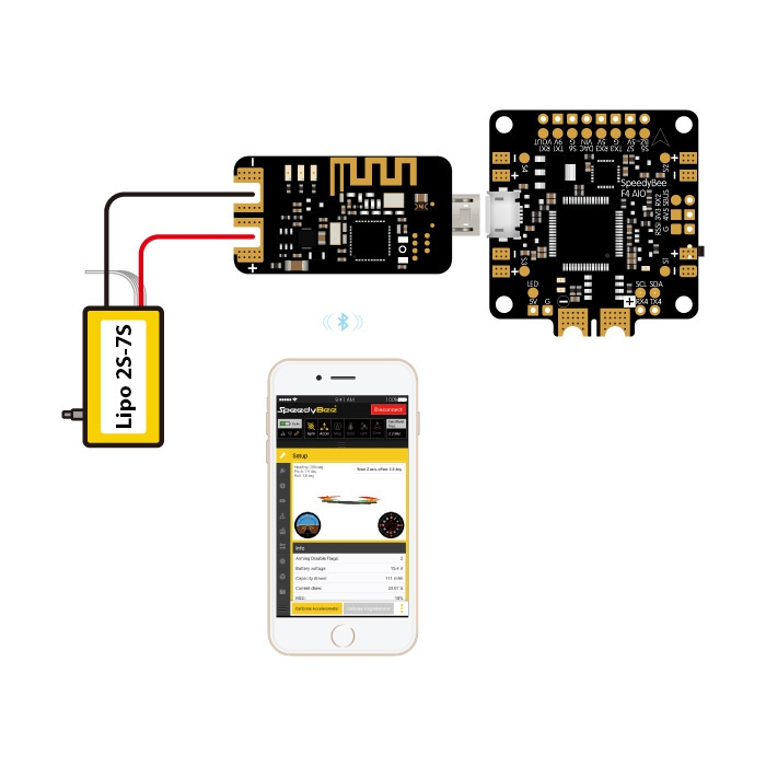 Speedybee - Module de connexion Bluetooth USB
