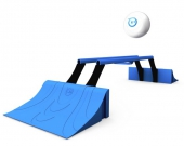 Sphero Terrain Park déplié avec robot sphero