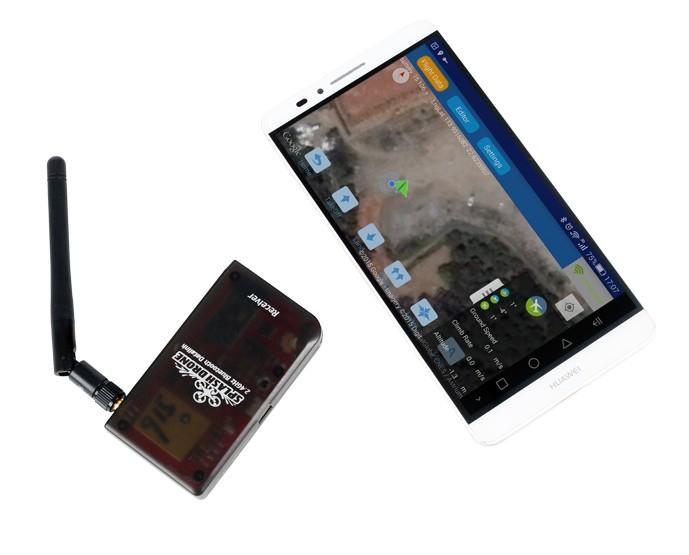 Module Datalink du Splash Drone 3 Auto avec tablette