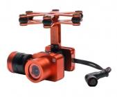 Nacelle et caméra 4K du Splash Drone 3 Auto