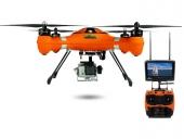 Splash Drone AUTO+ SwellPro avec radiocommande AT9 - couleur orange