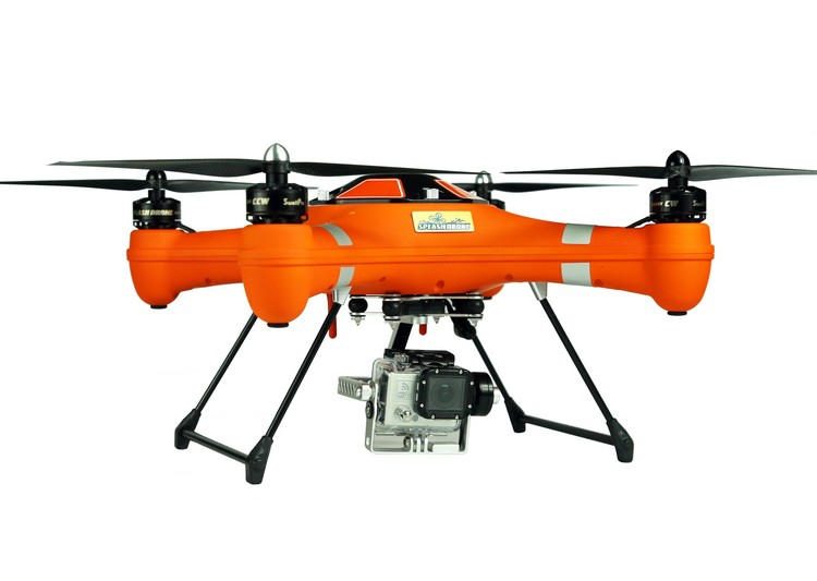 Splash Drone AUTO+ SwellPro - couleur orange