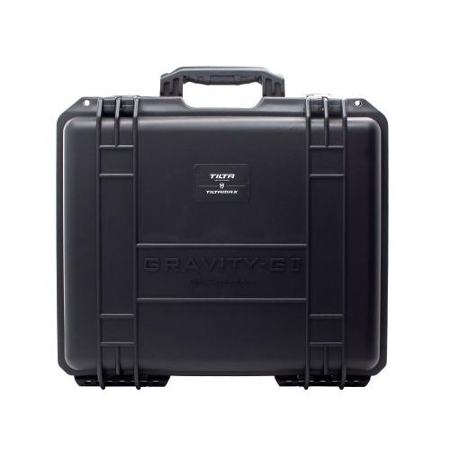 Stabilisateur Tilta Gravity G2x livré avec valise de transport et manuel d\'utilisation