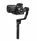 Steadycam Feiyu MG Lite avec appareil photo monté - vue générale de côté