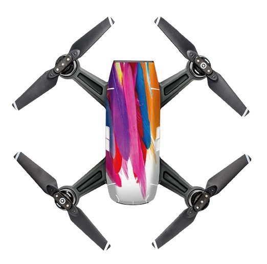 Sticker graphique feathers pour DJI Spark - PGY