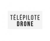"""Sticker """"Télépilote de drone"""""""