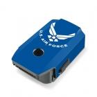 Stickers iStyles pour batterie DJI Mavic pro USAF Bleu