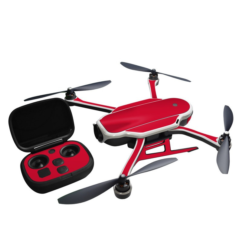 Stickers iStyles pour GoPro Karma Rouge