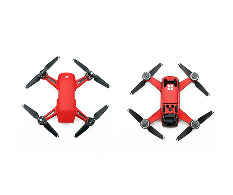 Stickers Kimura pour DJI Spark - rouge