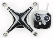 Stickers pour DJI Phantom 4 - Carbon Fiber