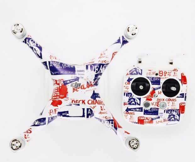 Stickers pour DJI Phantom 4 - British