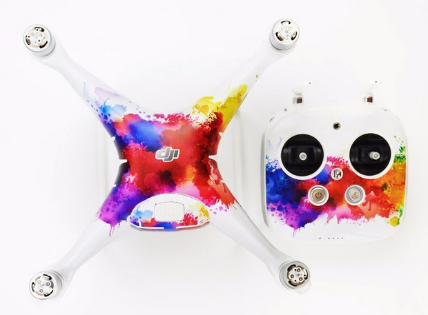 Stickers pour DJI Phantom 4 - Color Splash
