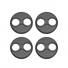 Sunnylife 4Pcs/Set Motor Covers Dustproof Scratchproof Aluminum Alloy Protection Cover for Mavic Mini