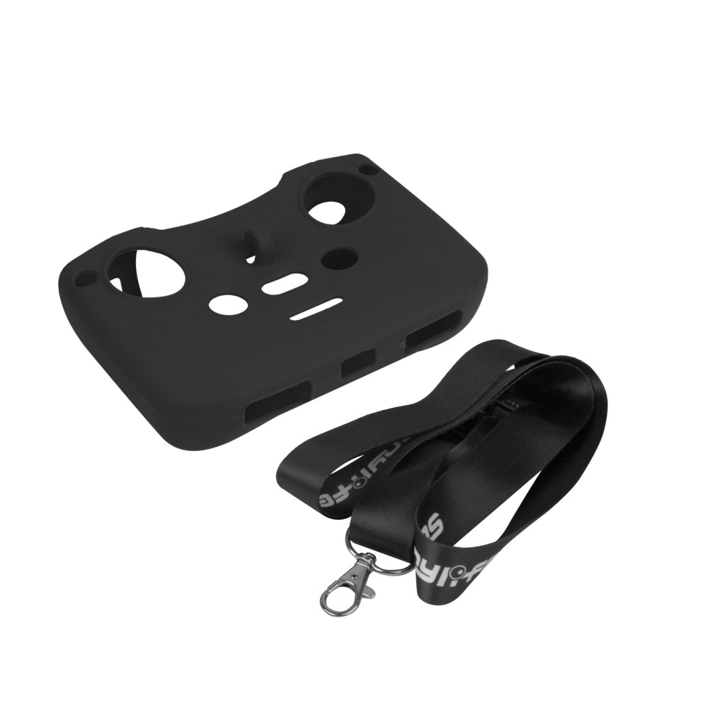 Sunnylife Remote Controller Silicone Protective Cover with Strap Silicone Sleeve Cover for Mavic Air 2