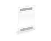 Support A4 en plexiglass