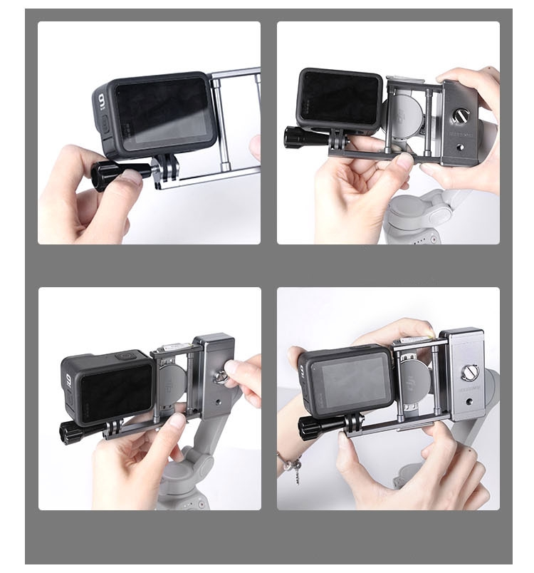 Support actioncam pour DJI OM 4 et Osmo Mobile 3 - Sunnylife