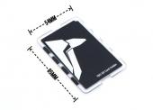 Support de carte MicroSD TBS vue de dos avec les dimensions