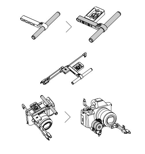 Support de fixation pour moteur Focus Ronin-SC - DJI