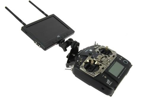 Support carbone pour écran Futaba T8J et T10J