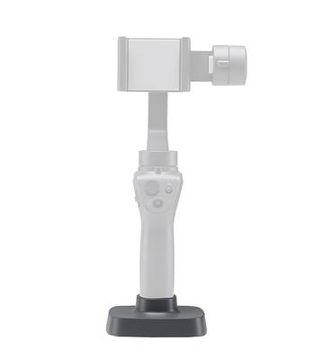 Support avec stabilisateur DJI Osmo Mobile 2 installé dessus