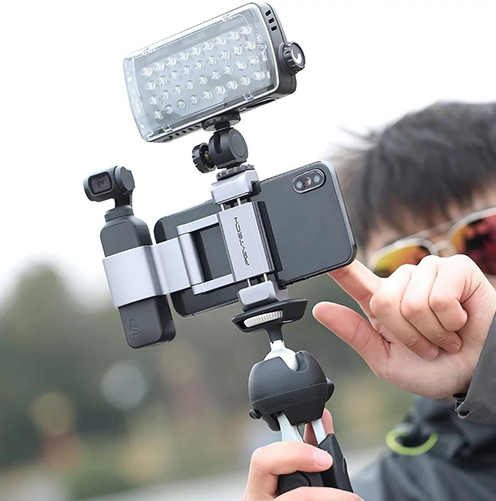 Support smartphone compact pour DJI Osmo Pocket - PGYTECH