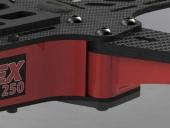 Système de bras en carbone du Vortex PRO 250 ARF de chez ImmersionRC