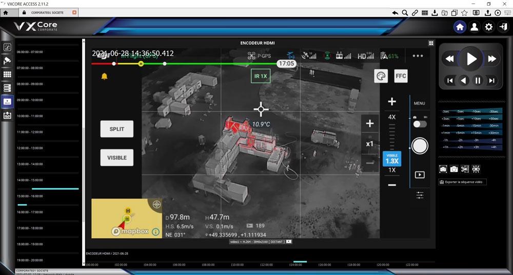 Système de retransmission vidéo 4G - Abot