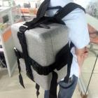 Système sac à dos avec valise Phantom 4 monté dessus