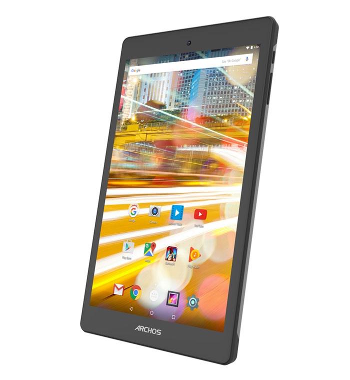 Tablette Archos 80 Oxygen 32 Go - vue de biais
