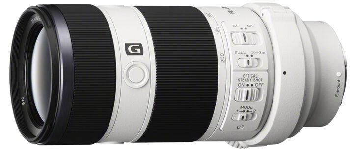 Téléobjectif FE 70-200 mm f/4 constante - Sony