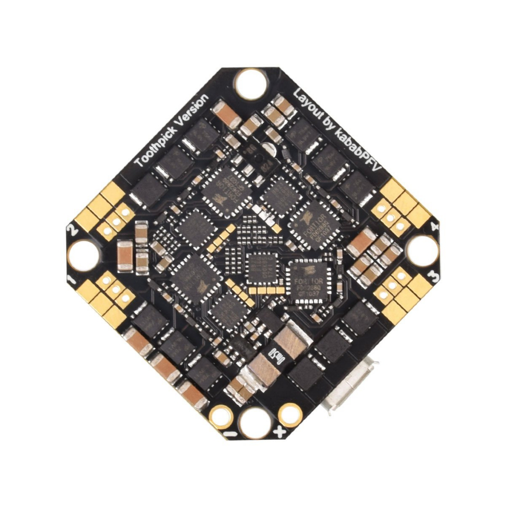 Toothpick F4 2-4S AIO Brushless Flight Controller 20A(BLHeli_S)