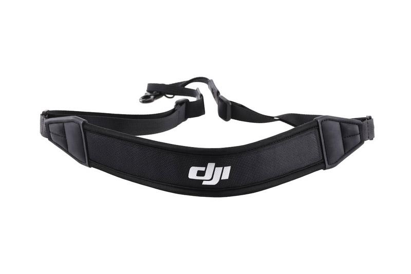 Tour de cou DJI universel - vue arrière - renforcement avec logo DJI
