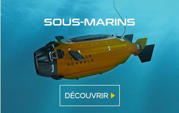 Découvrez les sous-marins chez studioSPORT