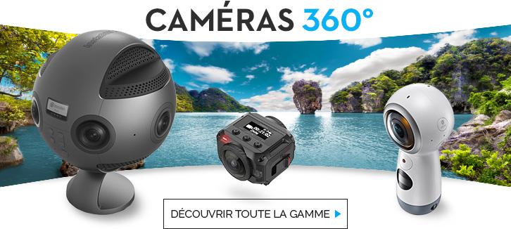 toute la gamme caméras 360°