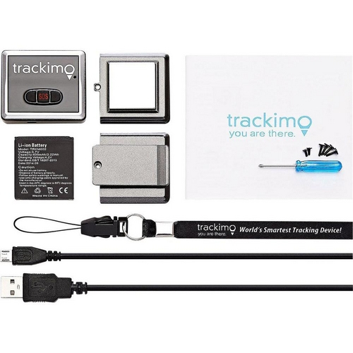Tracker GPS Trackimo avec accessoires