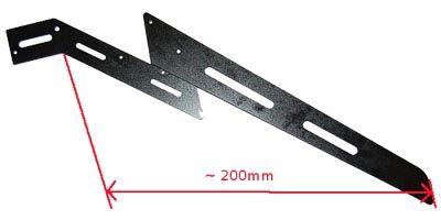 Train d\'atterrissage 3D élastique pour Gaui 330X