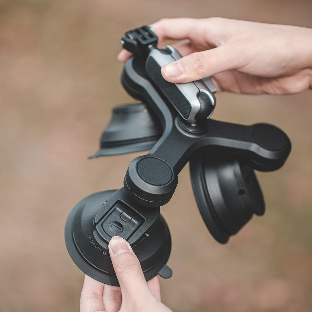 Triple ventouse pour caméras - PGYTECH