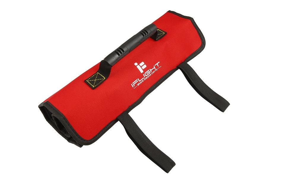 Trousse à outils enroulable + set d'outils - iFlight élastiques ouverts