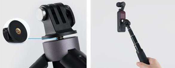 Universal Mount Kit pour DJI Osmo Pocket - PGYTECH
