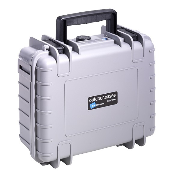 Valise B&W Type 1000 pour GoPro5 Black - Couleur grise