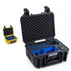La valise B&W type 3000 pour GoPro Karma Grip est disponible en coloris noir ou jaune