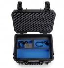 Vue du deuxième compartiment de la valise B&W Type 3000 pour DJI Osmo+ (Osmo Plus) - noire